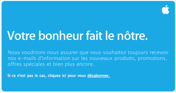 Apple Abonnement